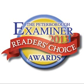 Peterborough Examiner Readers Choice Award